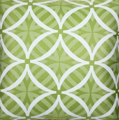 Fabric Coolum Lime Reverse